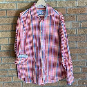 Multi-colored Men's Dress Shirt